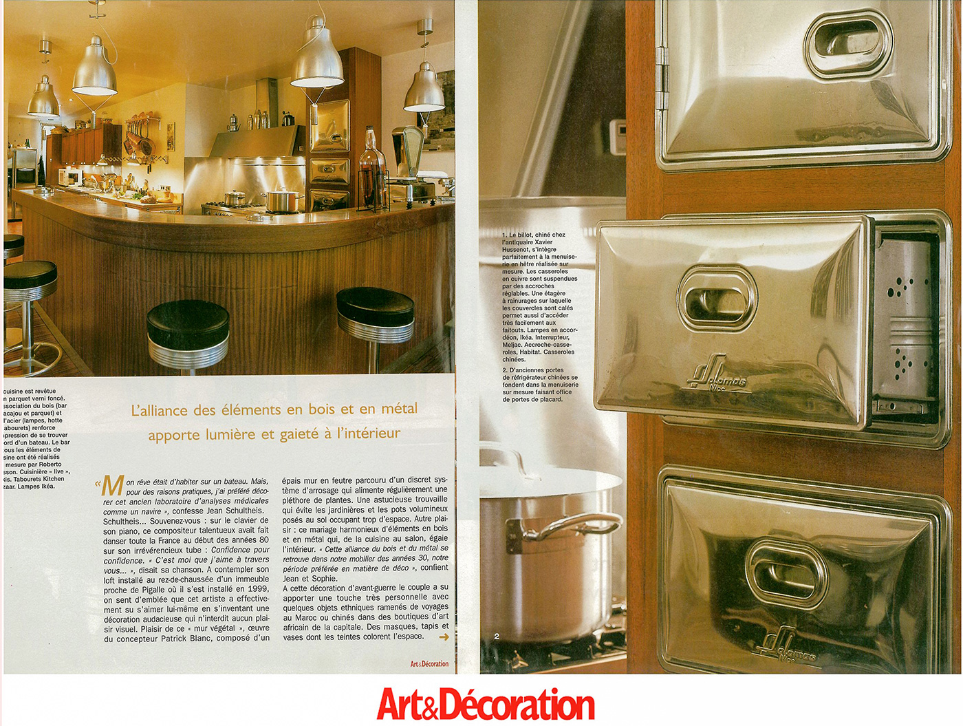 parution art et d coration solomas ebeniste et agenceur nice. Black Bedroom Furniture Sets. Home Design Ideas