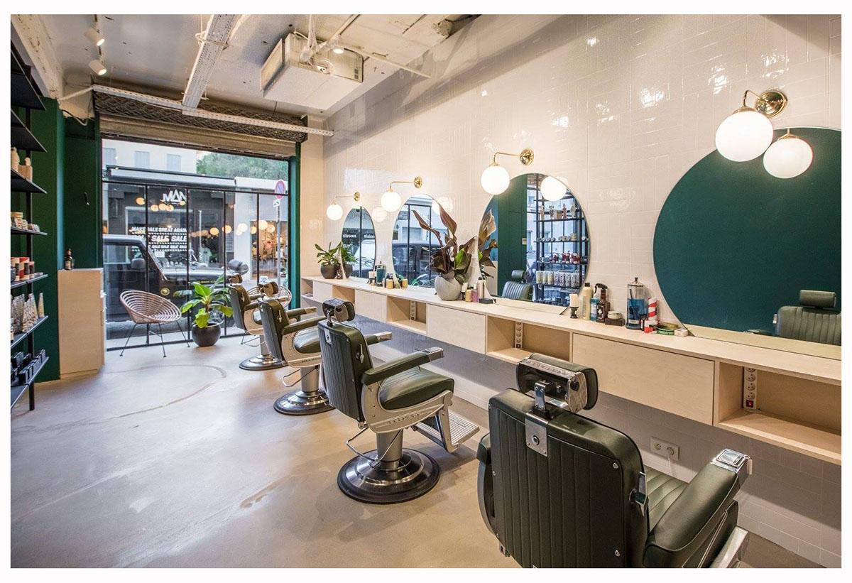 Meuble coiffeur sur mesure Crédit photo: Pierre Turtaut